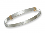 Waltz Bracelet by E.L. Designs in Sterling Silver and 14K accents
