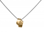 Love Knot Pendant by E.L. Designs in 14K Gold Overlay