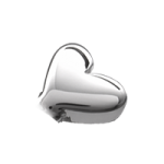 Silver Heart Accent