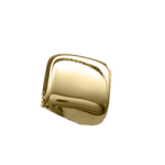 14K Gold Cube Accent
