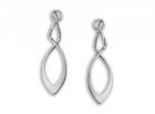 Feather Earrings by E.L. Designs in Sterling Silver