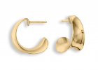 Executive Earrings by E.L. Design in 14K Gold