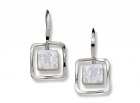 Zenith Earring by E.L. Designs in Sterling Silver with Pearl
