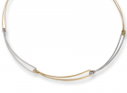 Open Link Necklace by E.L. Designs in Sterling Silver & 14K Gold