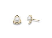 Birdie Earring by E.L. Designs in 14K Gold with Pearls