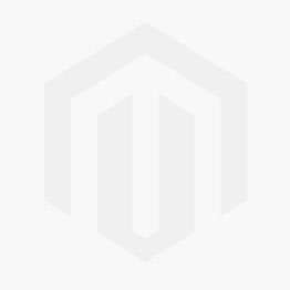 Gemstone Swing Necklace by E.L. Designs in Sterling Silver with Faceted Garnet (shown both ways)