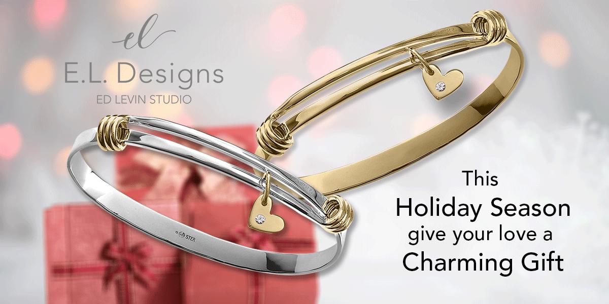 Charming Signature Bracelet by E.L. Designs by Ed Levin Studio