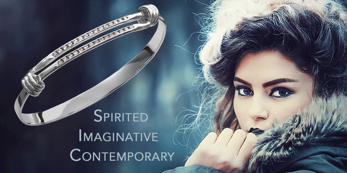Diamond Signature Bracelet by E.L. Designs by Ed Levin Studio