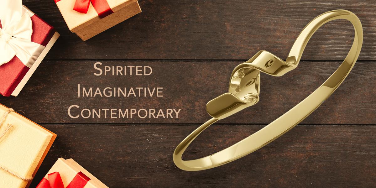 Corkscrew Bracelet by E.L. Designs