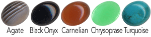 10x8mm cabochon options for BR164