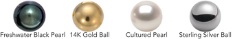 6mm Pearl or Ball options for EA377